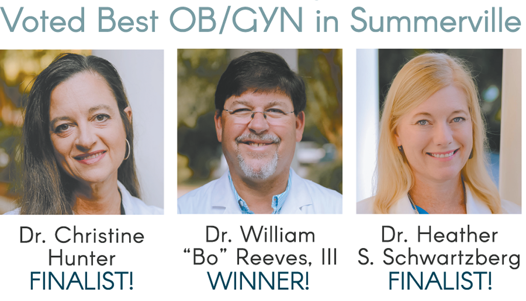 VOTED SUMMERVILLE'S BEST OBGYN